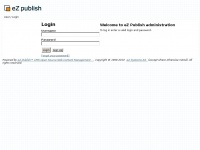Deblindgenger.nl - Login / User - eZ Publish