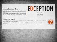 Deboerconsult.nl - Exception - placeholder