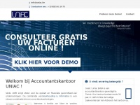 Uniac.be - UNIAC ACCOUNTANTSKANTOOR BOEKHOUDING