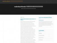 Rodenbachfonds.org - Rodenbachfonds - In de kijker