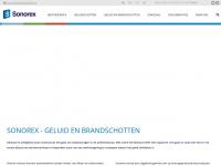Sonorex.nl - Sonorex | Geluid en brandschotten