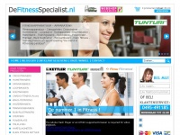 DeFitnessSpecialist Fitnessapparatuur | Top fitnessapparatuur: crosstrainer, hometrainer, loopband, roeitrainer, fitness