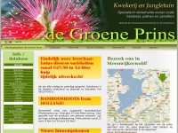 De Groene Prins - Exotische tuinplantenkwekerij en Jungletuin