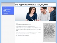 Dehypotheekoffertevergelijker.nl - De Hypotheekofferte Vergelijker