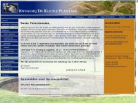 dekleineplantage.nl