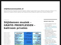 stijldansenmuziek.nl