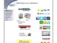 Homepage van de Samian