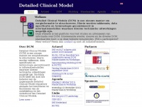 Detailed Clinical Models