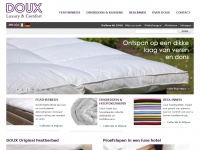 Hotel Luxury at Home - Featherbed, Hotelbedden, Dekbedden, Kussens, Bedlinnen, Bedding - DOUX Hotel Luxury