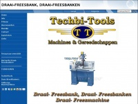 Draai-freesbank / Machinewinkel / Techbi-Tools