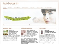 Dutch-treatment.nl - Home « Dutch Treatment - health & beauty