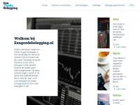 Actueel beursnieuws en beleggingstips, cursussen en optiestrategieën