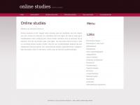 Online studies Online studies zoek je bij Educatio Online!