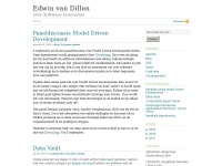 Edwin van Dillen over Software Innovaties