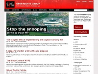 Openrightsgroup.org - Open Rights Group