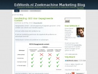 Eduard Blacquière - freelance Digital Marketing Consultant - EdWords.nl