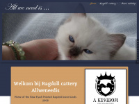 Ragdoll Cattery All we need is