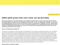ELE Rally - 1 & 2 juni 2018 - SchippersStop, Veldhoven