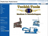 Plaatschaar / Machinewinkel / Techbi-Tools