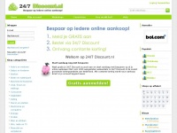 247discount.nl - 24/7 Discount - Geld terug op je online aankopen
