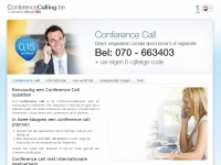conferencecalling.be