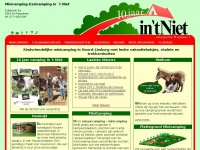 Minicamping - Boerencamping - Ezelcamping in 't Niet