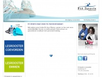 Sport en Lifestyle club Fit Sports - Sportschool in Coevorden en Emmen