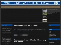 Fordcapriclubnederland.nl - Welkom bij FCCN! - Ford Capri Club Nederland