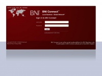 Bniconnectglobal.com - BNI Connect - Local Business - Global Network ® EN_US