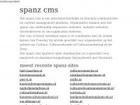 Spanz.nl - startpagina (spanz)   spanz content management system
