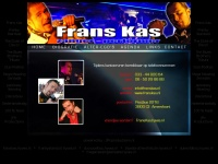 zanger / performer Frans Kas * Franky Stardust * Duke of Disco! * Blues 