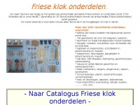 frieseklokonderdelen.nl