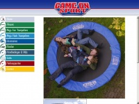 Game on Sport trampolines