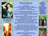 Tropische show, latin dans, latin duo, danseressen, entertainers, tropical feest