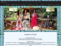 Arabisch feest, arabisch feest arrangement samengesteld voor uw bedrijfsfeest of personeelsfeest