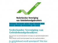 Geleidehondgebruiker.nl - Nederlandse vereniging van geleidehondgebruikers