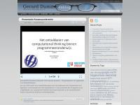 Gerard Dummer - Alles over Onderwijs en ICT.
