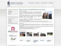 Bouw- en aannemersbedrijf Gerard de Bruijn - Aannemersbedrijf Gerard de Bruijn