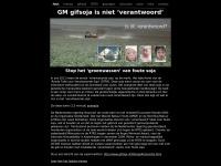 "Gifsoja.nl - GM gifsoja is niet ""verantwoord'"