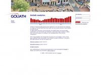 Goliath analytics - Website statistieken - Uitgebreide informatie over het bezoek aan uw website.