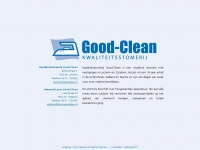Goodclean.nl - home - Good-Clean Stomerij en Wasserij