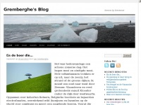 Gremberghe.nl - Gremberghe\'s blog