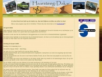 Haarsteeg-dakar.nl - Team Haarsteeg-Dakar - Dakar elektrisch rijden is de uitdaging
