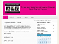 Home - Van Staveren Hairstylisten te Nijmegen