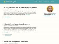 Handwerkpagina.nl - Welkom op mijn site