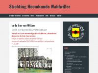Heemkundewahlwiller.nl - Stichting Heemkunde Wahlwiller
