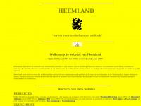 Forum voor nederlandse politiek Heemland - Hoofdbladzijde