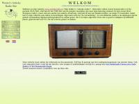 antiekeradio.nl; Wouter's Antieke Radio Site