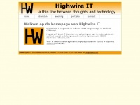 Highwire IT - webdesign, SEO en maatwerksoftware - www.highwire-it.nl