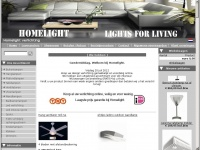 Homelight, de online verlichtingwinkel voor al uw interieur VERLICHTING. Koop uw design verlichting voordelig en gemakkelijk online.
